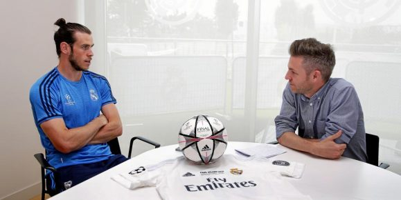 Media Day. Aparte con Gareth Bale   *******NO USAR SIN CONSULTAR CON FOTOGRAFIA, FOTOS EMBARGADAS*******