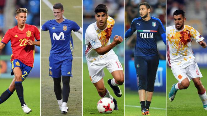 سه بازیکن از مسابقات زیر 21 سال یورو مدنظر رئال مادرید