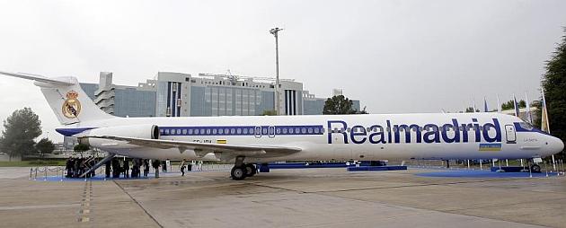 هواپیمای سابق رئال سقوط کرد