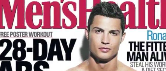 کریستیانو بر جلد مجله Men's Health