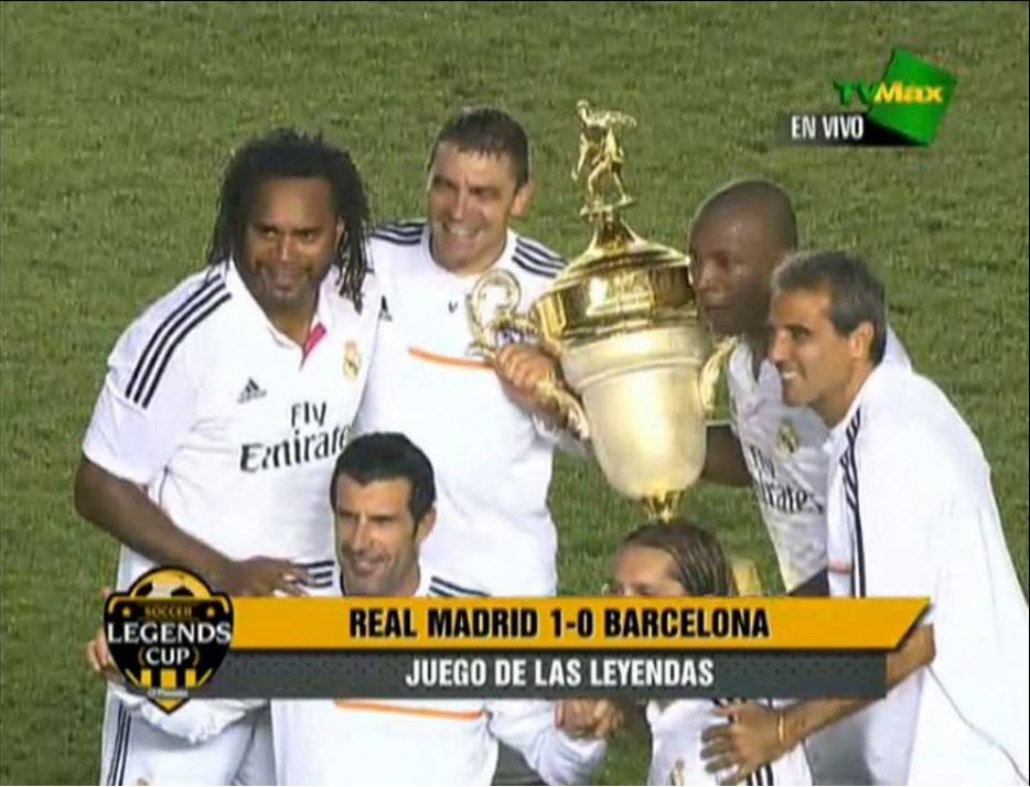 رئال مادرید دربی پیشکسوتان را برد