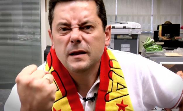 ویدئو: کری خوانی جالب رونکرو برای یک بارسایی