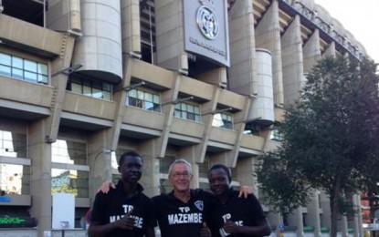 پایان پیاده روی 45 روزه فوتبالیست های کنگویی به سمت برنابئو