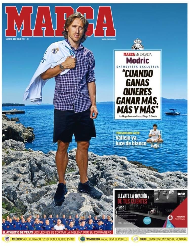 روزنامه مارکا، 17 تیر