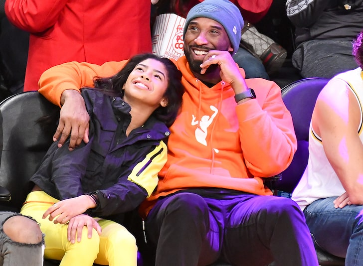 pictures of kobe bryant family