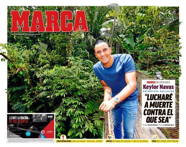 روزنامه مارکا، 12 تیر