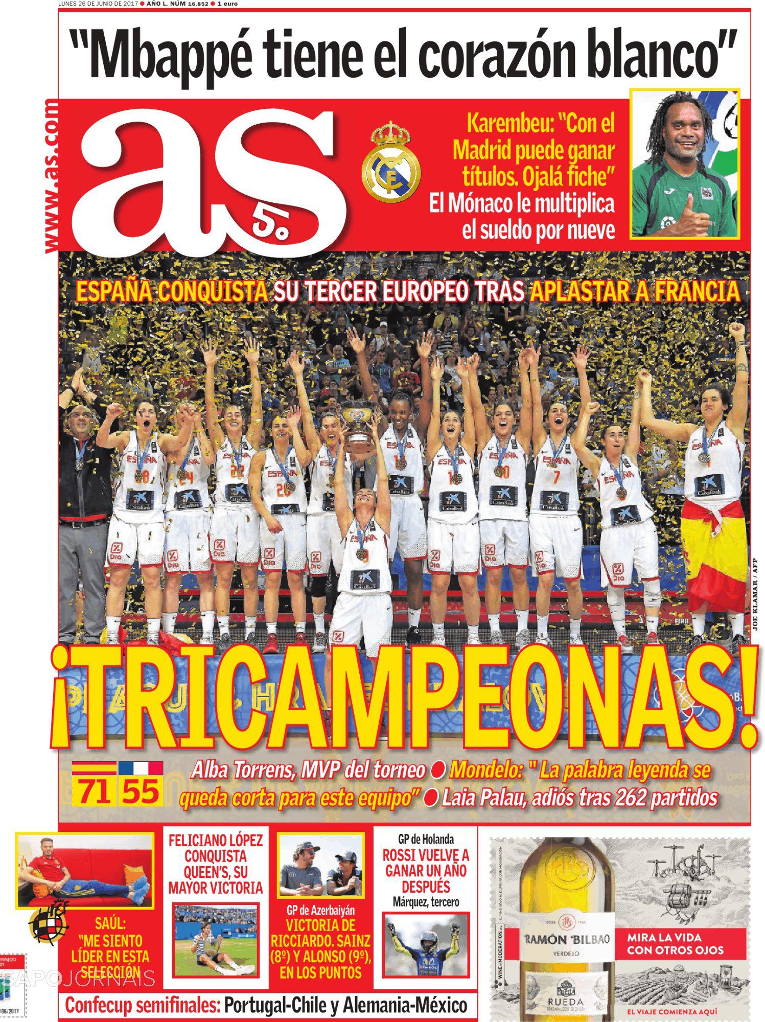 روزنامه آس، 5 تیر