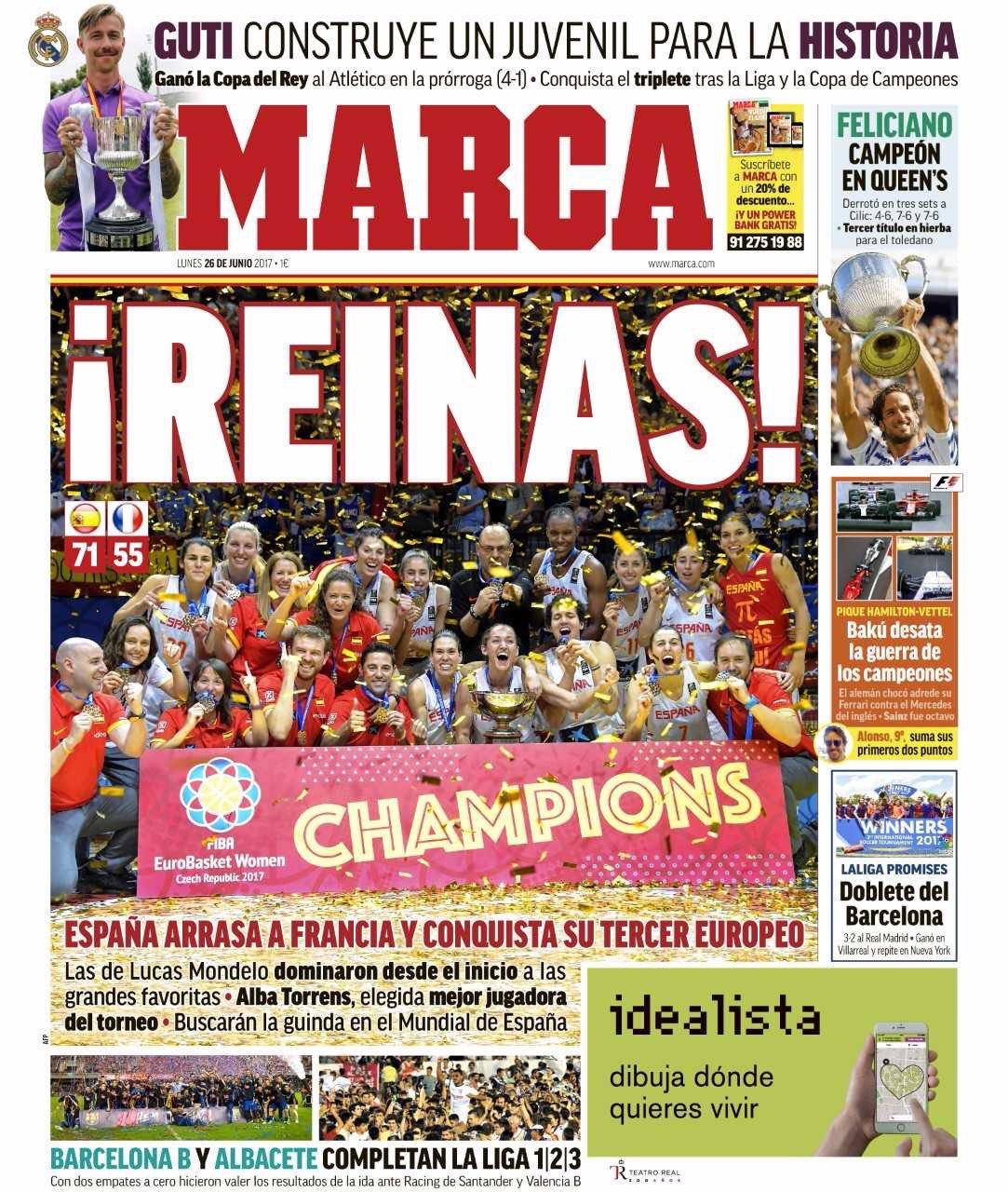 روزنامه مارکا، 5 تیر