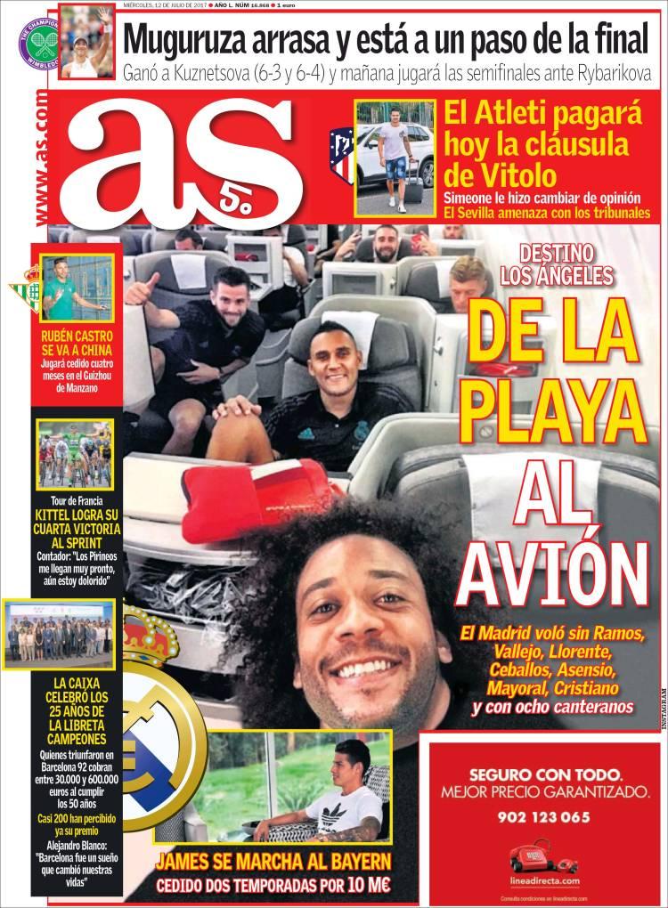 روزنامه آس، 21 تیر