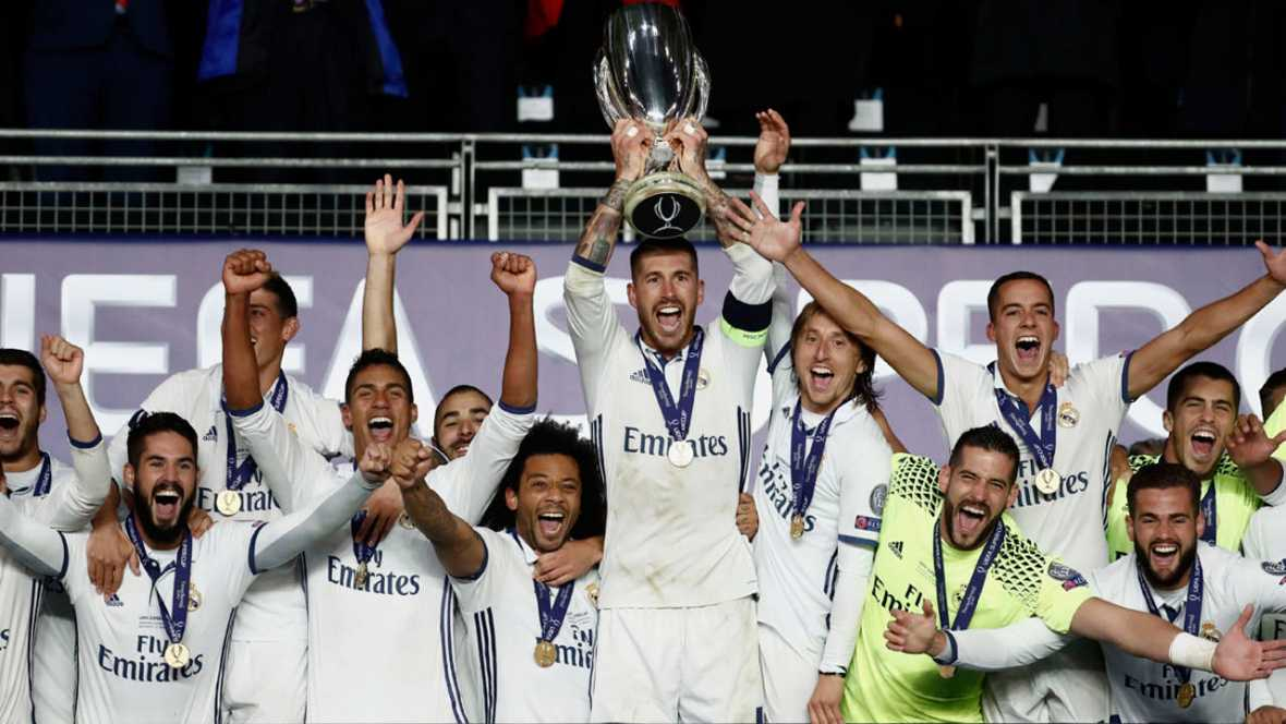 <h3>رئال مادرید بهترین باشگاه سال 2016 اروپا شد </h3>