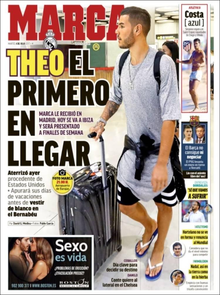 روزنامه مارکا، 13 تیر